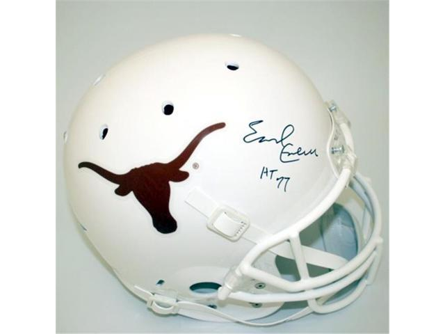 Victory Collectibles VIC-000061-7100-042 Earl Campbell Autographed Texas Replica Helmet