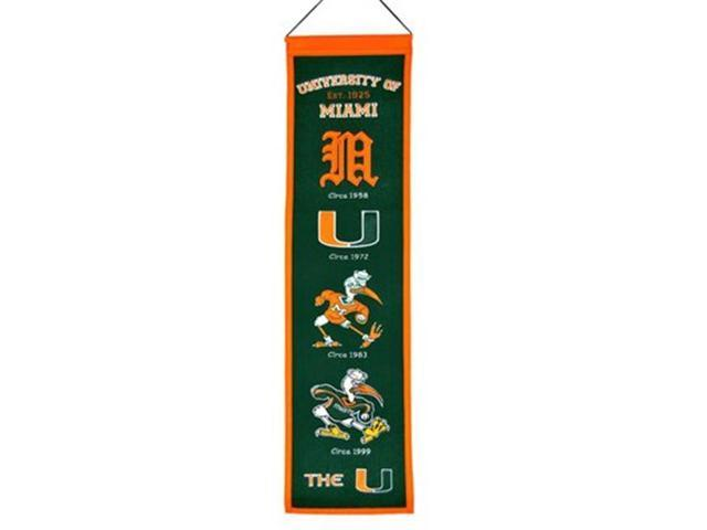 Winning Streak Sports 45030 Miami Heritage Banner