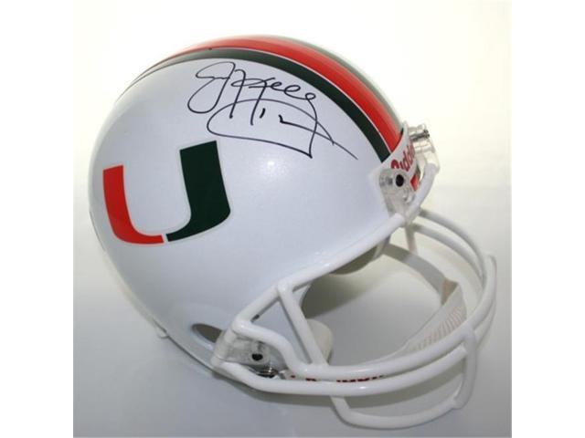 Victory Collectibles VIC-000091-31832 Jim Kelly Autographed Miami Replica Helmet