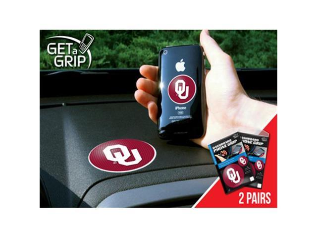 Fanmats 13052 University of Oklahoma Get a Grip 2 Pack