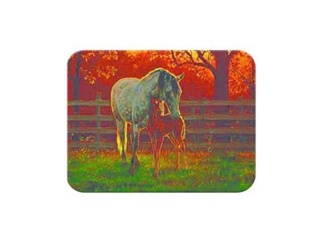 McGowan TT93101 Tuftop Mare and Foal Cutting Board- Small