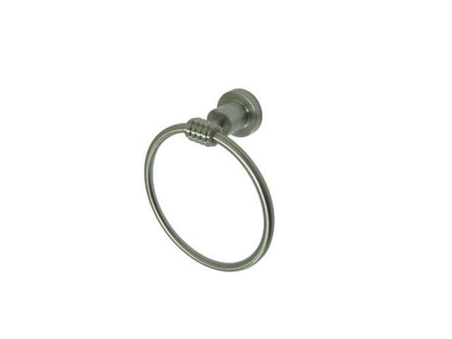 Kingston Brass BAH8614SN Kingston Brass BAH8614SN Milano Towel Ring, Satin Nickel