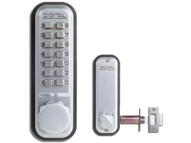 Lockey 2230-WH Mechanical Keyless Lock Janitor Function - White