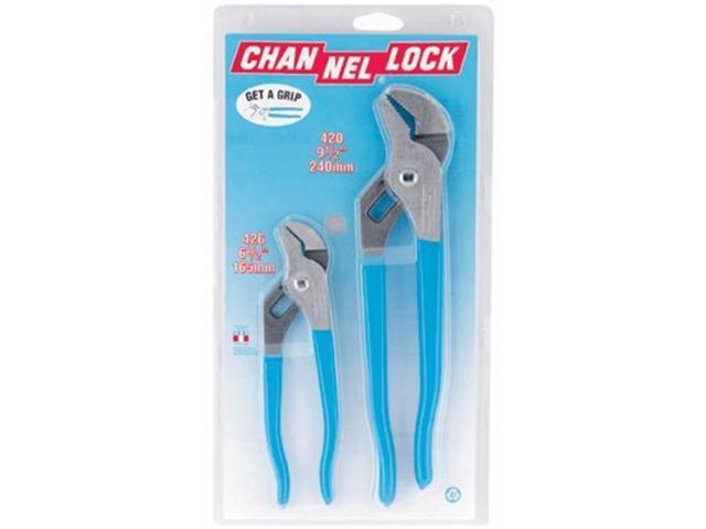 Channellock 140-GS-1 2Pc #420&426 Tounge & Groove Pliers In Gift Box