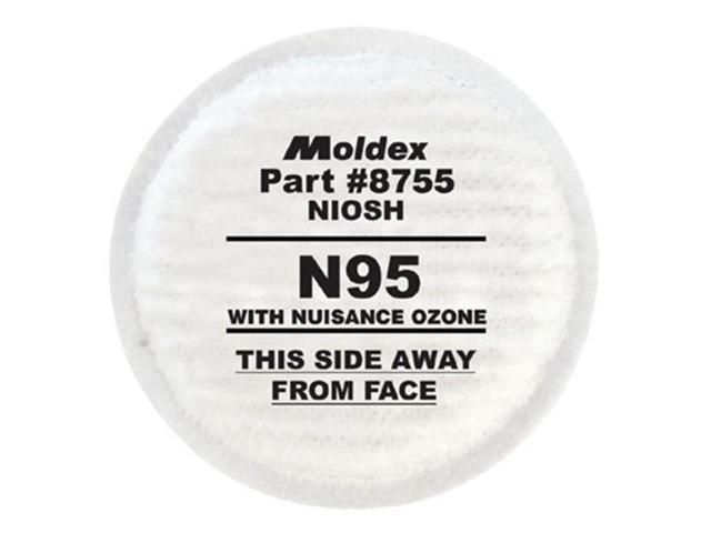Moldex 507-8755 N95 Particulate Filter Plus Nuisance Ozone-Orga