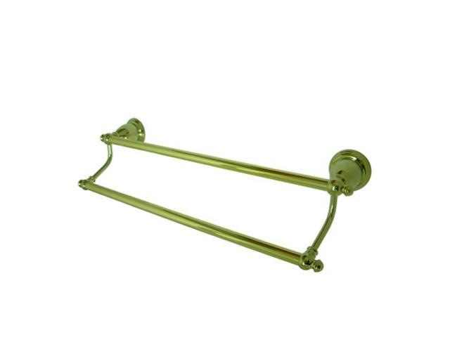 Kingston Brass Ba7973Pb 24 Inch Dual Towel Bar - Polished Brass Finish