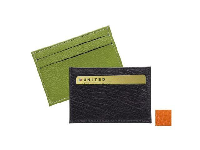 Raika RO 145 ORANGE 2.75in. x 4in. Two-Sided Card Case - Orange