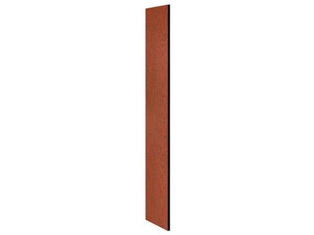 Salsbury Industries 30033CHE Side Panel - Open Access Designer Wood Locker 18 in. D without Sloping Hood - Cherry