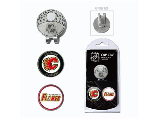 Team Golf 13347 Calgary Flames Cap Clip