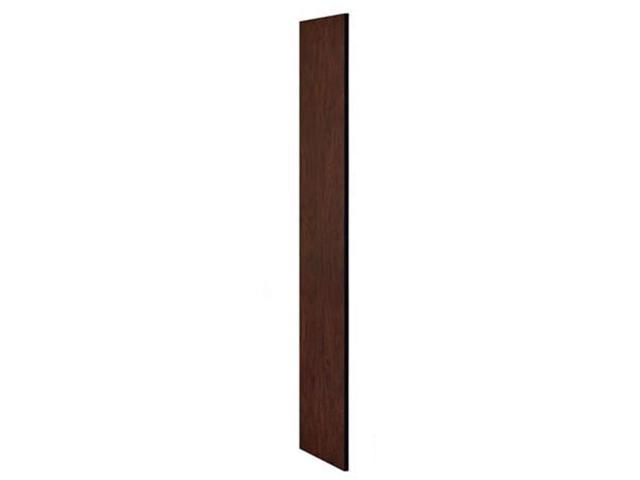 Salsbury Industries 22233MAH Side Panel for Extra Wide Designer Wood Locker without Sloping Hood - Mahogany