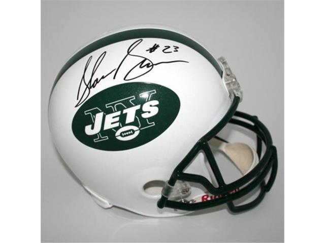 Victory Collectibles VIC-000200-30527 Shonn Greene Autographed New York Jets Replica Helmet