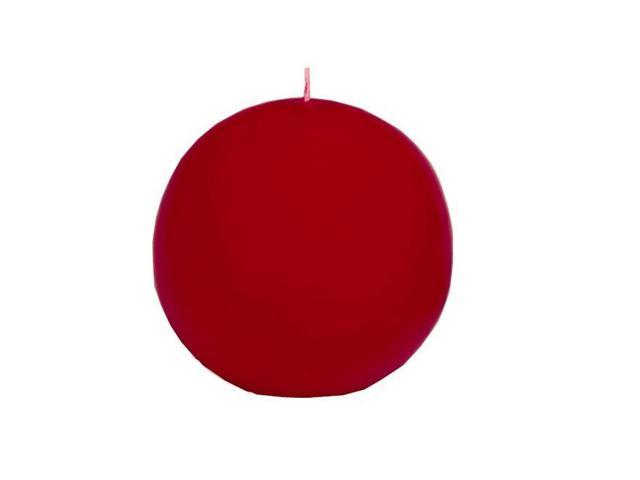 Biedermann & Sons CBC60CY Ball Candle - 4 Cranberry
