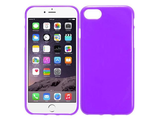 iPhone 8 Case / iPhone 7 Case - ZV TPU Cover Tetrapoly Urethane Soft Shell Case Cover Classic Candy Transparent Thin Protector Plain TPU