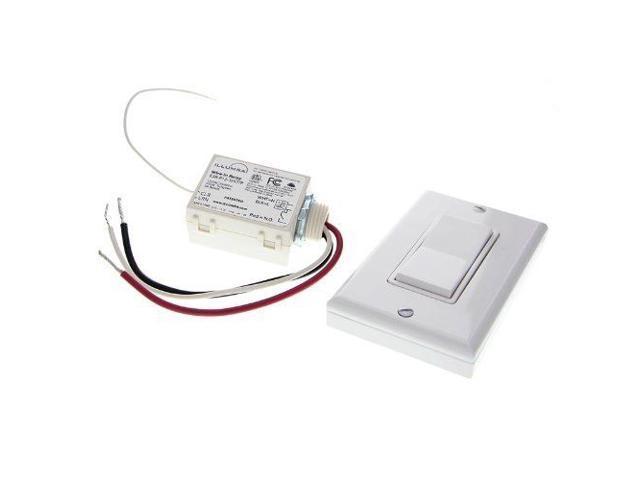 Basic Wireless Light Switch Kit Illumra 120v E3k A11wh