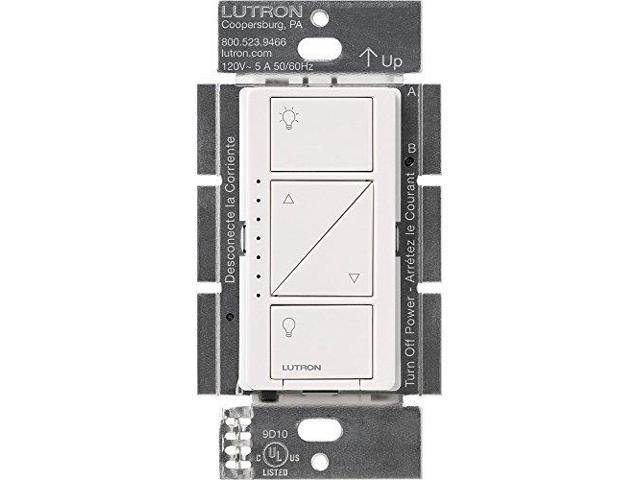 lutron pd 10nxd wh caseta pro in wall dimmer 250 watts led 1000 watts incandescent halogen. Black Bedroom Furniture Sets. Home Design Ideas