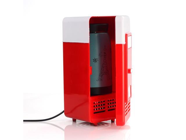 Lychee® 5V USB Power Operated Portable Mini Fridge With Cooling And Heat  Function ,Cool