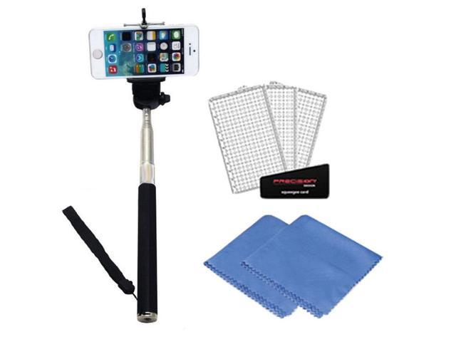 selfie stick for iphone 6 plus 5s 5c 5 samsung galaxy s6 s5 s4 s3 scr. Black Bedroom Furniture Sets. Home Design Ideas