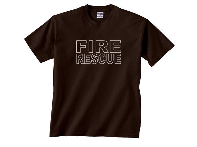 Fire Rescue Firefighter Duty Department T-Shirt