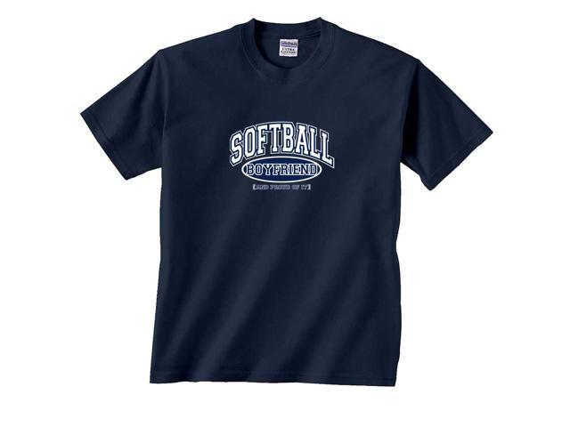 Softball Boyfriend and Proud of It T-Shirt