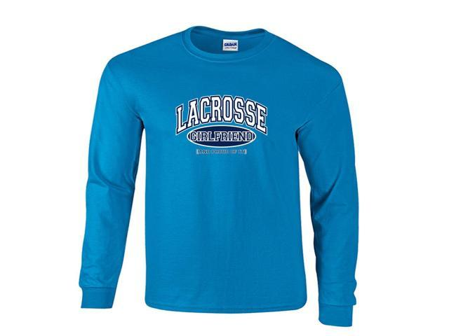 Lacrosse Girlfriend and Proud of It Long Sleeve T-Shirt