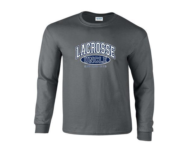 Lacrosse Uncle and Proud of It Long Sleeve T-Shirt