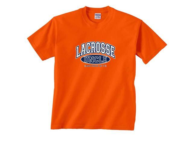 Lacrosse Uncle and Proud of It T-Shirt