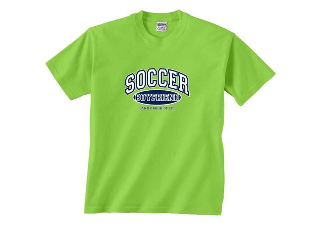 Soccer Boyfriend and Proud of It T-Shirt
