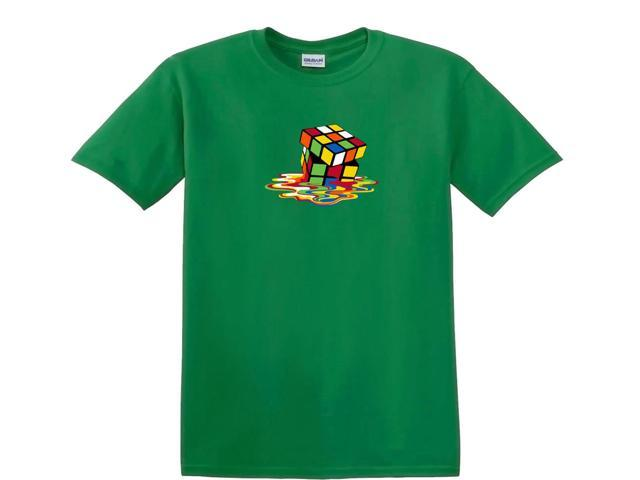 Melting Puzzle Cube Picture T-Shirt