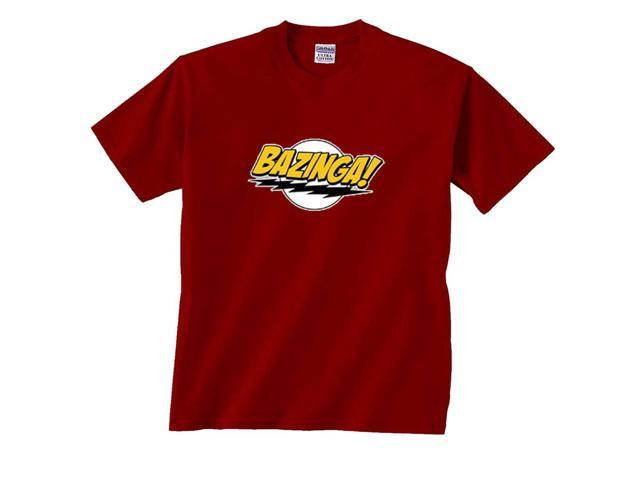 Bazinga Lightning Bolt Picture T-Shirt