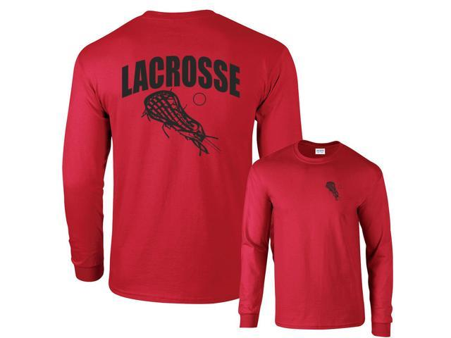 Lacrosse Arch Sticks lax ball Long Sleeve T-Shirt