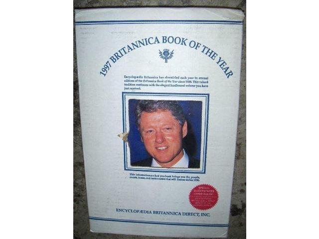 Britannica Book of the Year 1997 (Encyclopaedia Britannica Book of the Year)