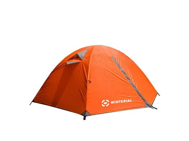 Winterial 2 Person Tent / Easy Setup Lightweight C&ing and Backpacking 3 Season Tent / Compact  sc 1 st  Newegg.com & Winterial 2 Person Tent / Easy Setup Lightweight Camping and ...