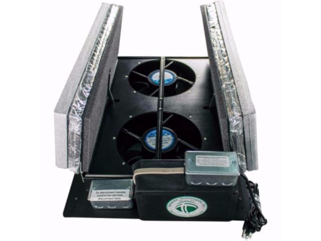Tamarack Technologies Hv1600 R50 Ductless Whole House Fan With Vacuum Insulated Panel Vip