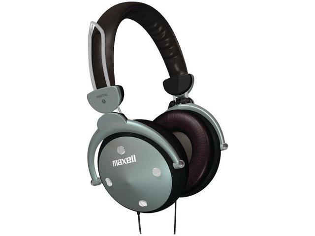 MAXELL 190562 Full-Cup Folding Digital Headphones