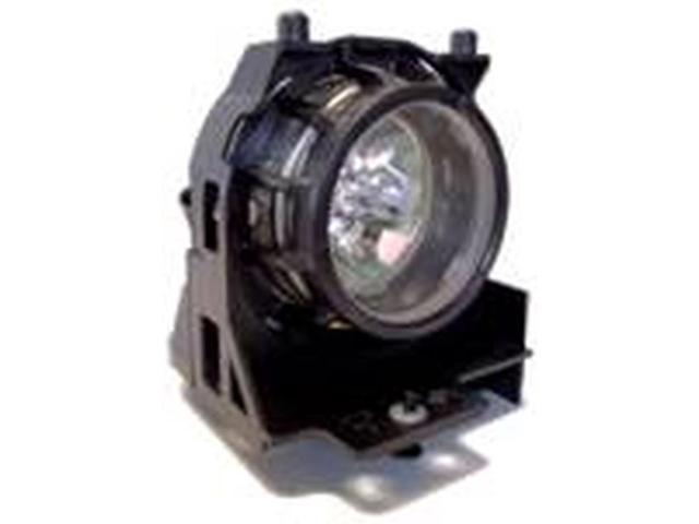Hitachi PJ-LC5 Branded OEM Replacement Projector Lamp. Includes New UHB 130W Bulb and Housing.