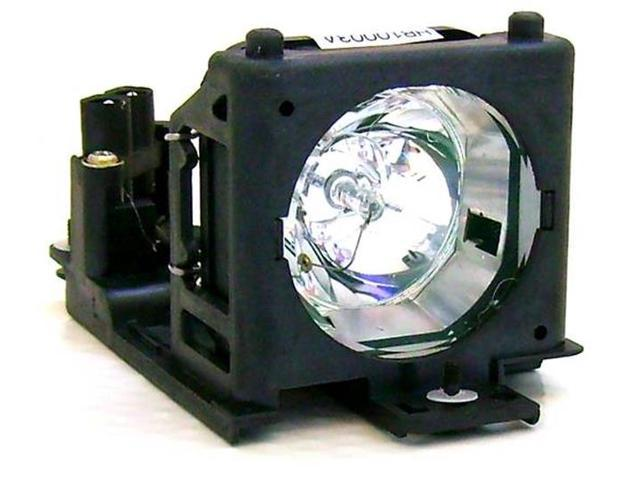 Hitachi CP-RS56 OEM Replacement Projector Lamp. Includes New UHB 165W Bulb and Housing.