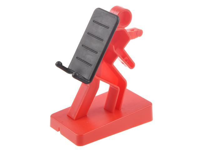 THZY Creative little People Type Mobile Phone Stand/ Holder Red