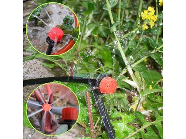 25m DIY Micro Drip Irrigation System Auto Timer Self Plant Watering Garden  Hose