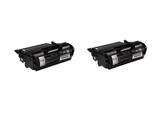 AIM Compatible Replacement - Lexmark X651/X652/X654/X656/X658 HI-Yield Toner Cartridge (2/PK-25000 Page Yield) (X651H11A2PK) - Generic