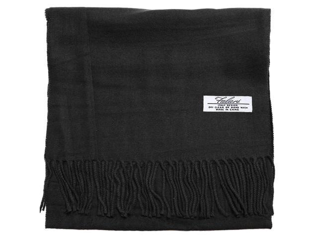 Falari Men Women Unisex Cashmere Feel Scarf 78