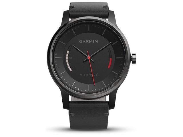 ihocon: Garmin Vivomove Sport Activity Watch w/ Leather Band
