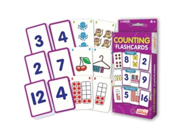 Junior Learning JRL210 Counting Flash Cards