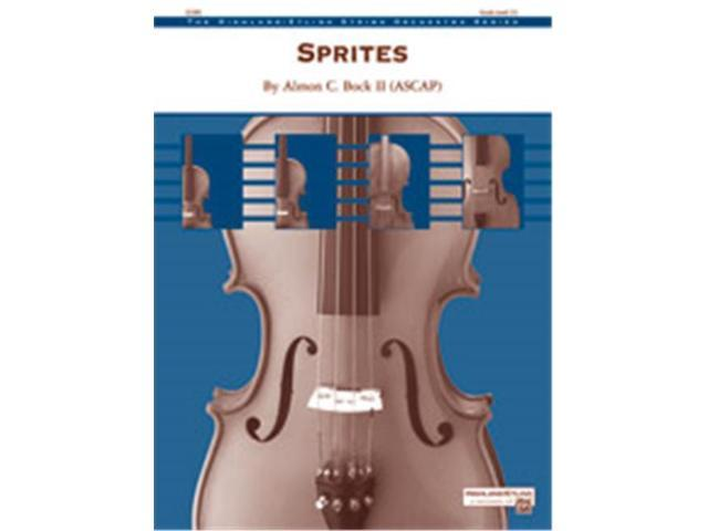 Alfred 00-38483S S Sprites-Hso Book