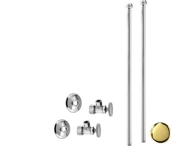 Westbrass D105KBN-01 .5 in. Nominal x .38 in. Bullnose Riser Faucet ...