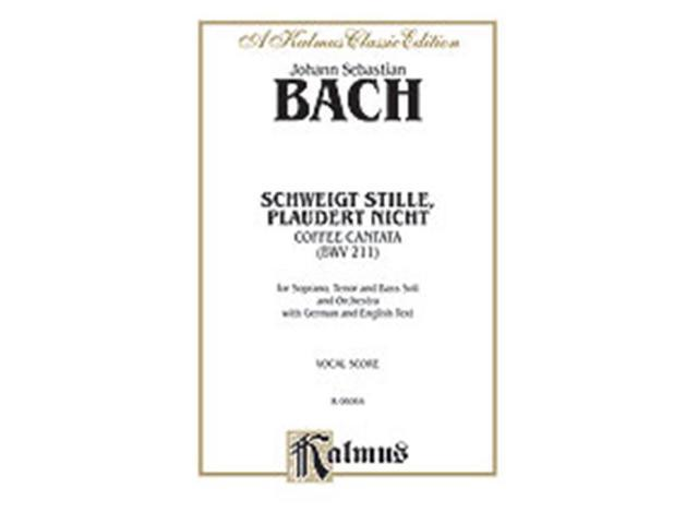 Alfred 00-K06064 BACH CANTATA NO. 211 - COFFEE