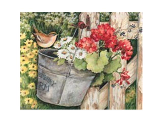 Willow Creek Press WC35851 Floral Fence Puzzle 300 pcs