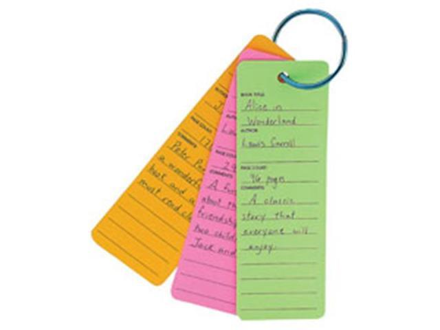 Hygloss Products HYX42670 Bright Book Buddies Bookmarks, 25 Per Pack