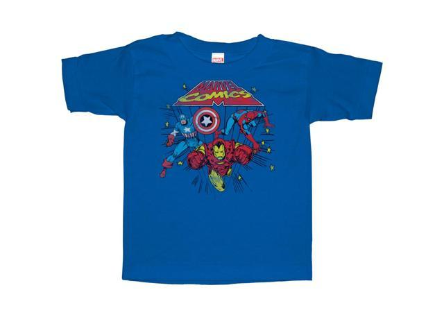 Marvel Comic Stars - Toddler Graphic T Shirt