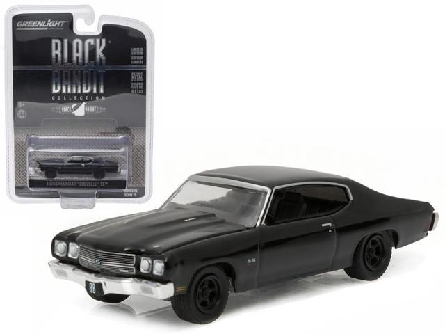 1970 Chevrolet Chevelle SS Black Bandit 1/64 Diecast Model Car by Greenlight