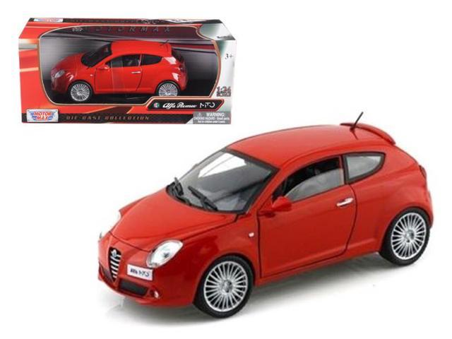 Alfa Romeo Mito Red 1/24 Diecast Car Model by Motormax